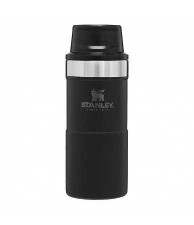 Termopuodelis Stanley Classic Trigger-Action Travel Mug 0.35 l. - juodas