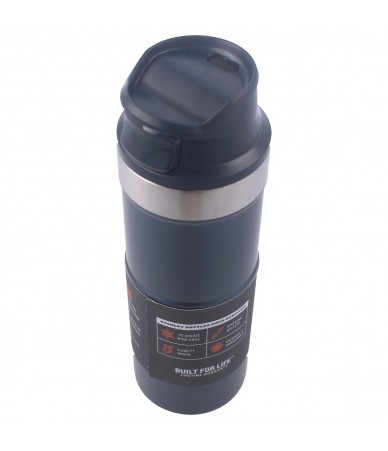 Termopuodelis Stanley Classic Trigger-Action Travel Mug 0.47L mėlynas