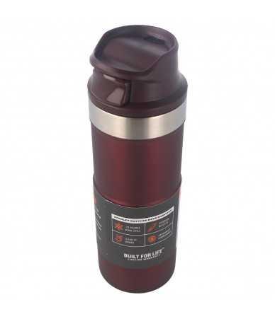 Termopuodelis Stanley Classic Trigger-Action Travel Mug 0.47L Wine