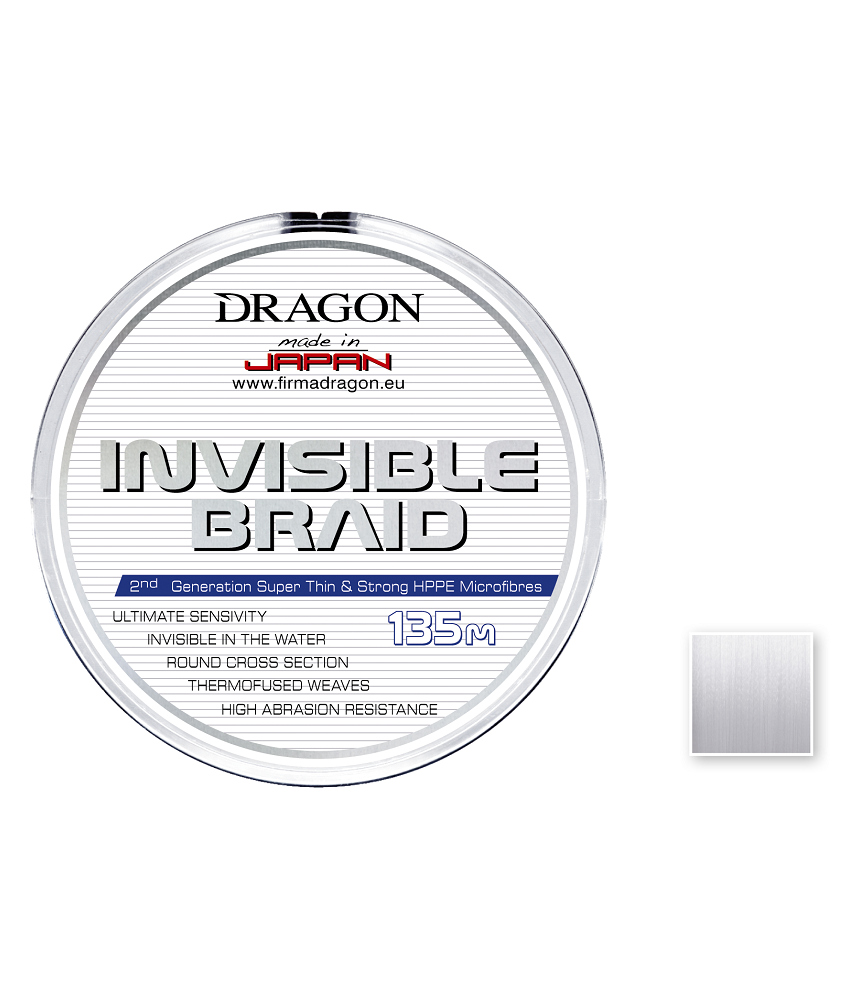 Valas Dragon INVISIBLE BRAID 135m