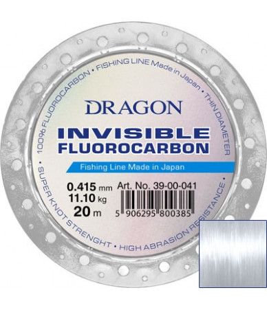 Valas Dragon INVISIBLE Fluorocarbon 20m
