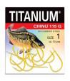 Kabliukai karpiams Robinson  Titanium CHINU 115G