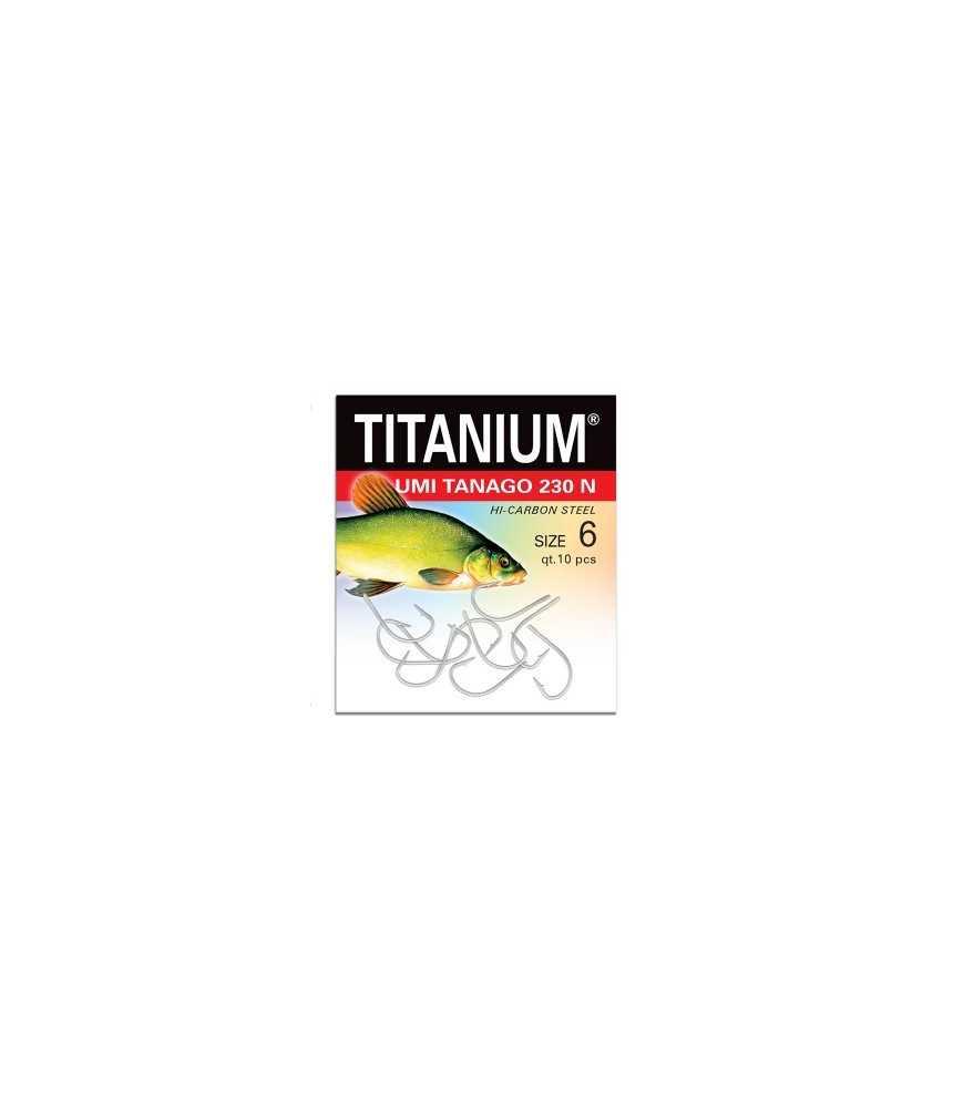 Kabliukai lynams Robinson  Titanium UMI TANAGO 230N