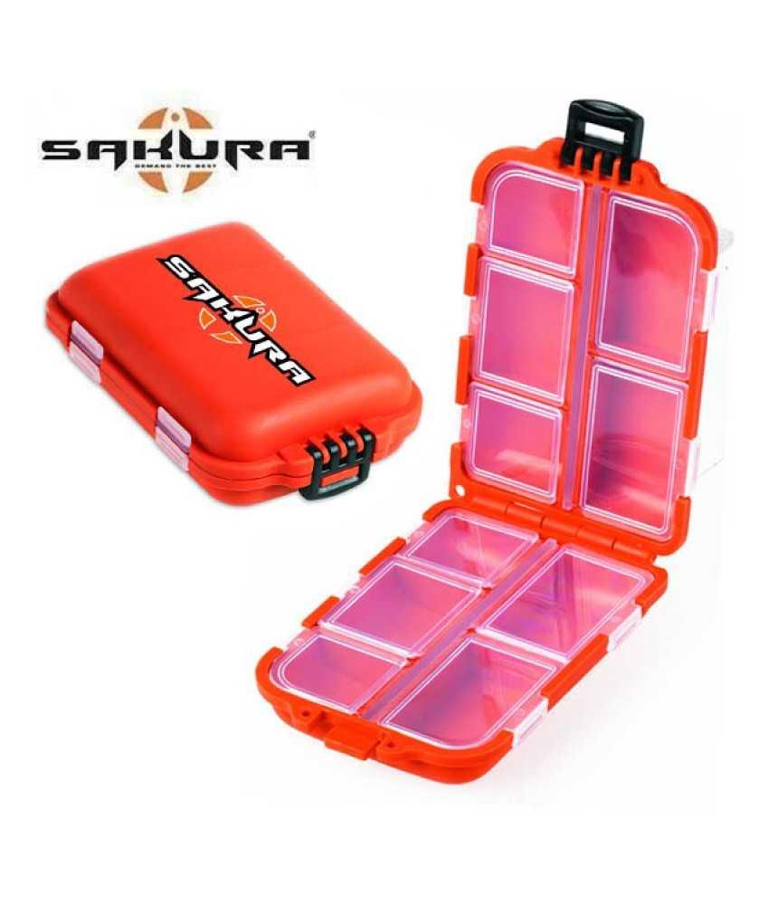 Dėžutė žvejybai Sakura NANO BOX 2 BAET0950023