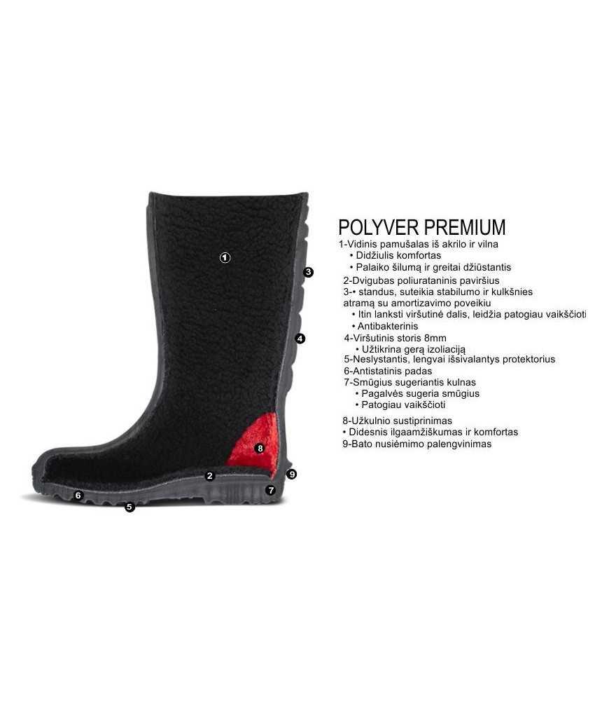 Botai žieminiai Polyver  Premium