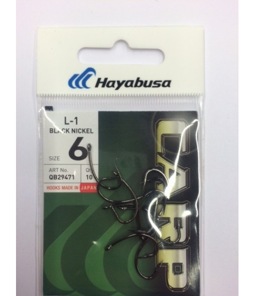 Kabliukai  L-1 Carp Hayabusa