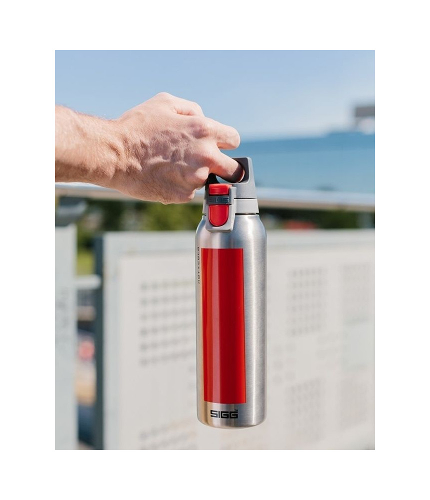 Termo puodelis SIGG Hot & Cold ONE ACCENT juoda 0.3 L