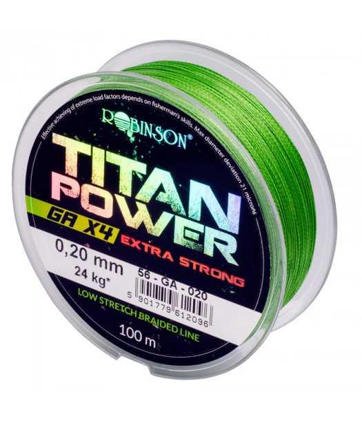 Valas pintas Robinson Titan Power GA X4