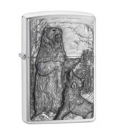 Zippo žiebtuvėlis Bear vs. Wolf