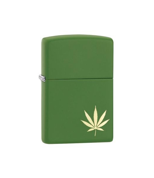 Zippo žiebtuvėlis Marijuana Leaf on the Side