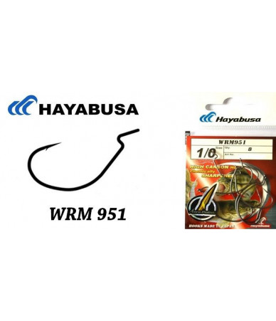 Kabliukai WRM 951 Hayabusa