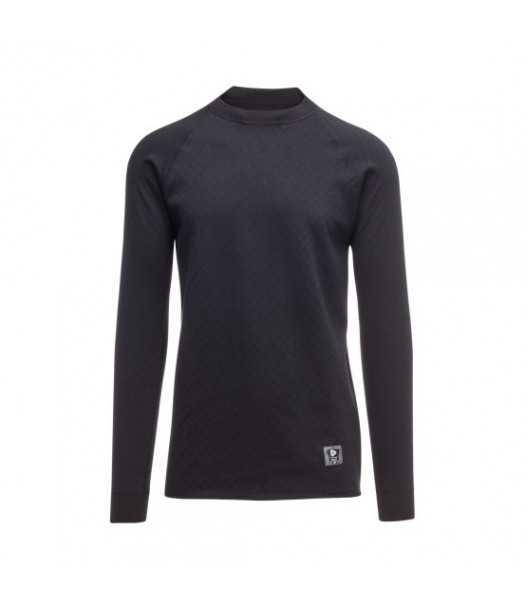 Merino vilnos Vyriški termo marškinėliai 2IN 1 Thermowave | juodi
