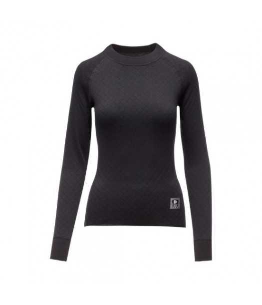 Moteriški termo marškinėliai 2IN 1 Thermowave | juodi