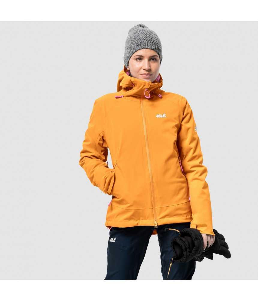 Moteriška slidinėjimo striukė JACK WOLFSKIN EXOLIGHT PEAK JKT W