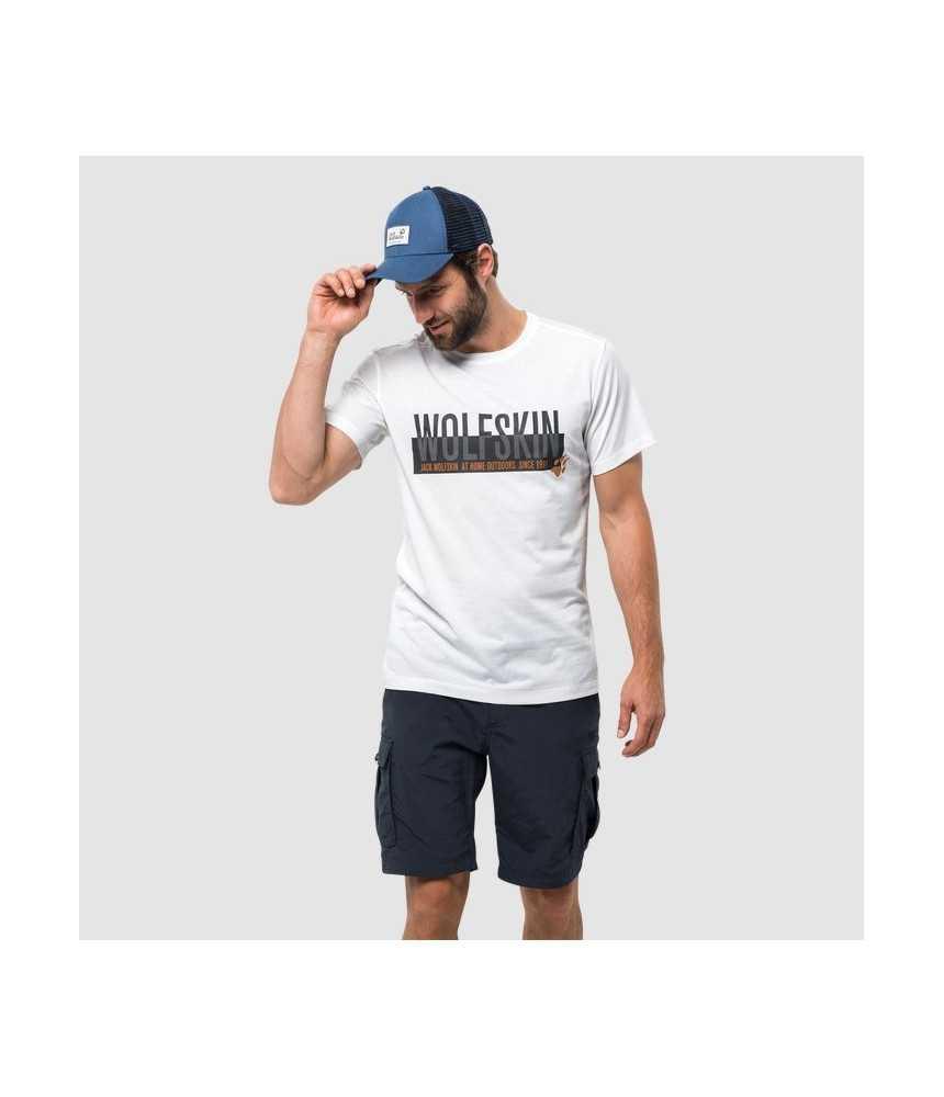 Vyriški marškinėliai  JACK WOLFSKIN SLOGAN T