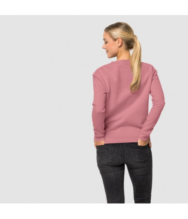 Moteriškas džemperis JACK WOLFSKIN LOGO