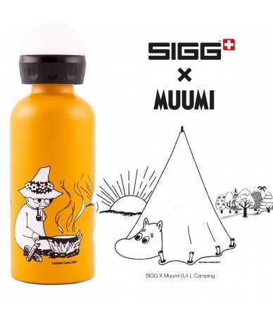 Vaikiška gertuvė SIGG X Muumi-pullo, 0,4 L Camping