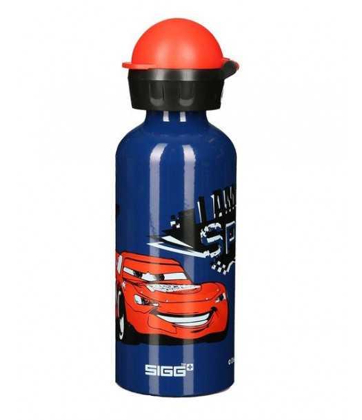 Vaikiška gertuvė SIGG Cars Speed ( Žaibo Makvyno)  0.4l| mėlyna