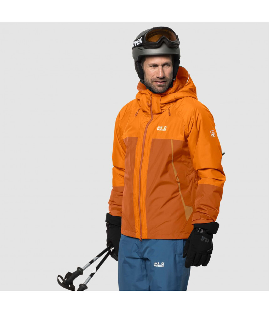 Vyriška slidinėjimo striukė JACK WOLFSKIN POWDER MOUNTAIN JACKET M