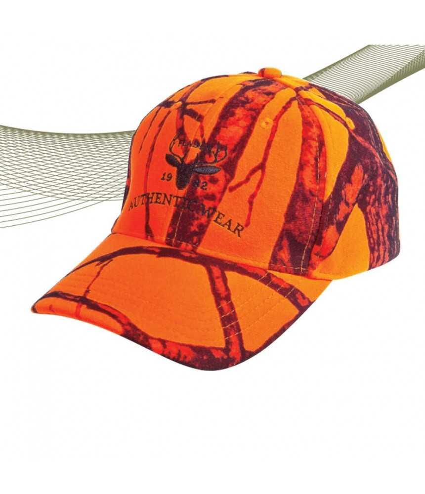 Kepurė medžiotojui Fladen signalinė| oranžinė 22-928
