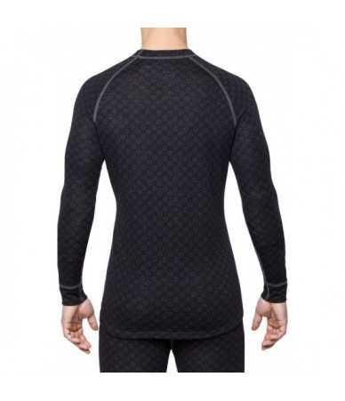 Termo marškinėliai vyrams Thermowave MERINO XTREME | juodi