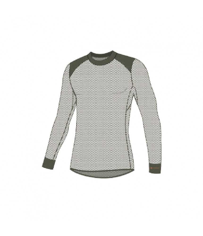 Termo marškinėliai ilgomis rankovėmis vyrams Thermowave MERINO WOOLMESH| juodi