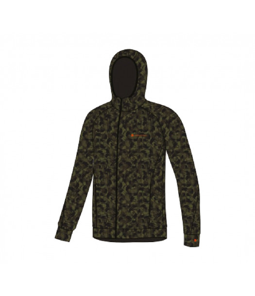 Termo džemperis su kapišonu vyrams Thermowave HOODIE | žalias