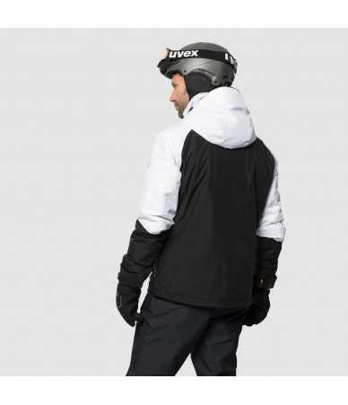 Vyriška slidinėjimo striukė JACK WOLFSKIN POWDER MOUNTAIN JACKET | juoda