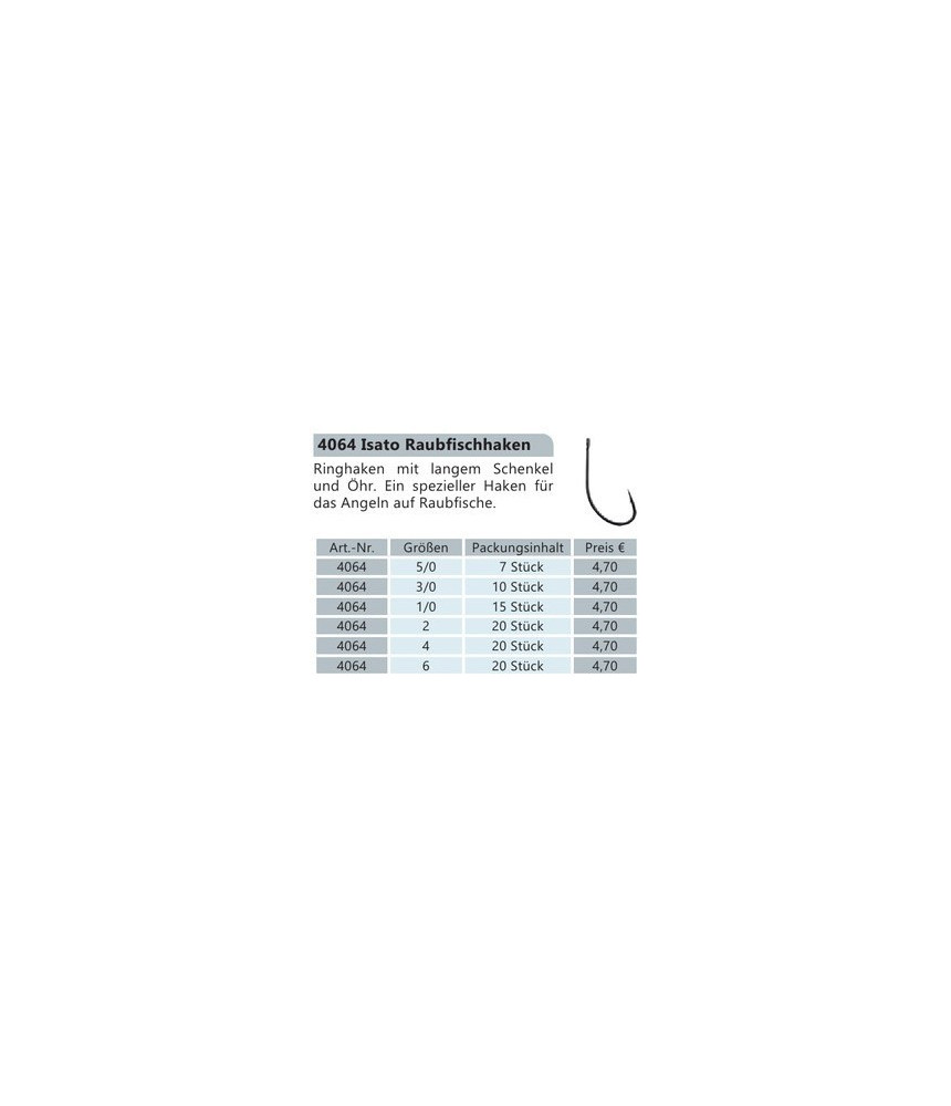Kabliukai BYRON ISATO 4064 Nr.6