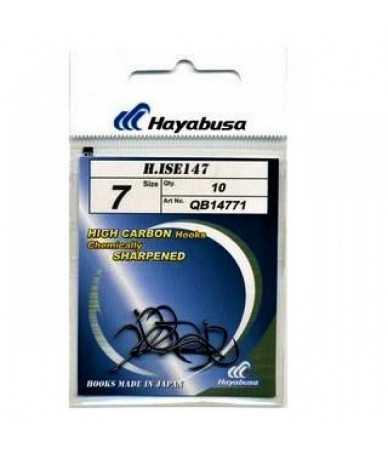 Kabliukai Hayabusa H.ISE 147 Black nickel Nr.10