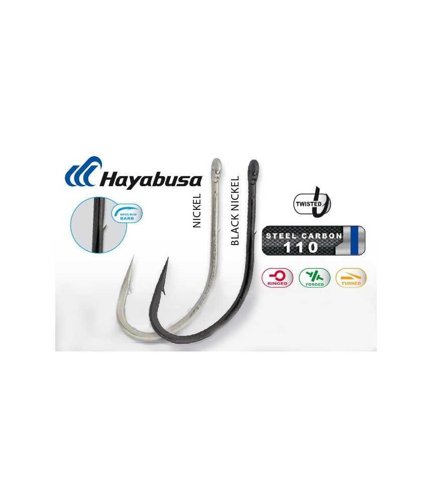 Kabliukai Hayabusa H.MRS 176 Black nickel Nr.8