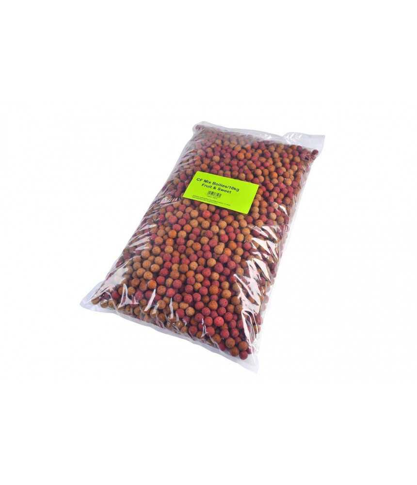 Tandem Baits jaukinimo baltyminių kukulių mišinys karpiams Mix Fruit&Sweet, 10kg