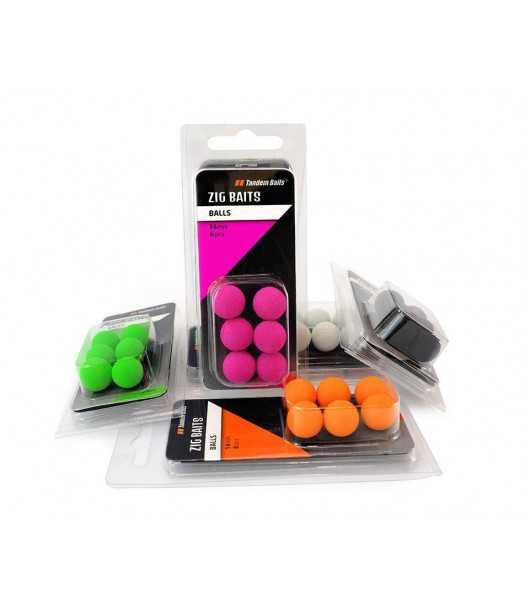 Dirbtinis masalas Zig-Balls 10mm (6vnt)