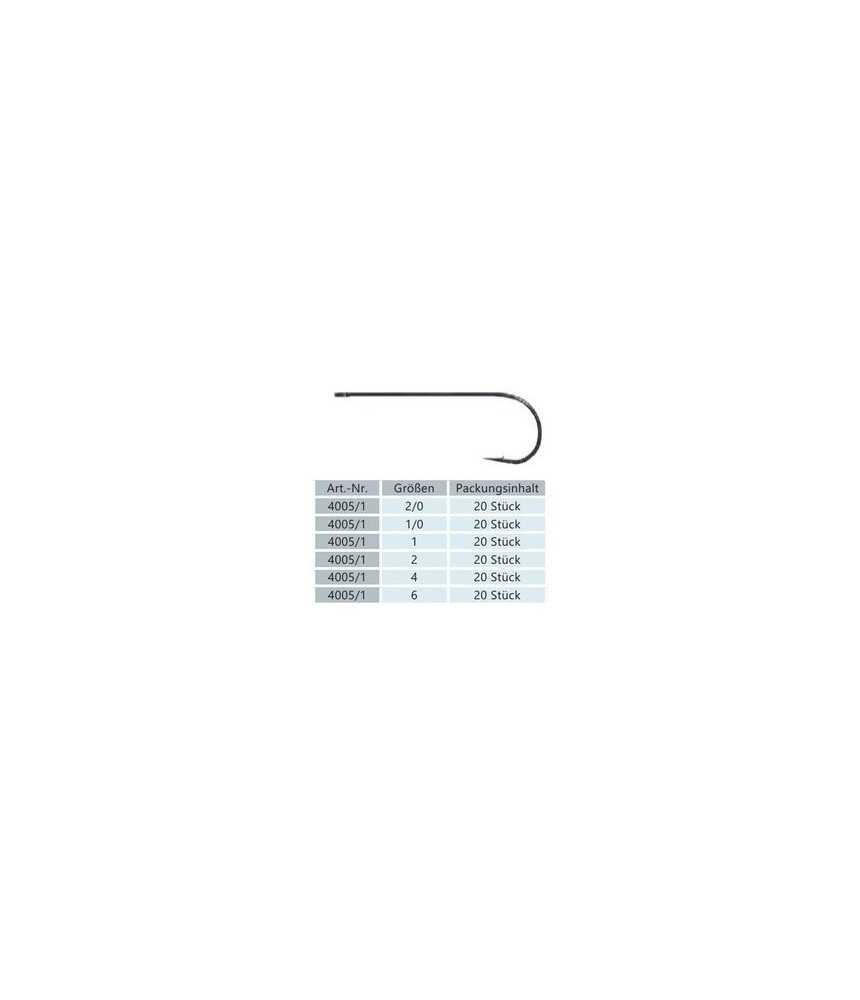 Kabliukai BYRON ISATO 400511 Nr.1/0