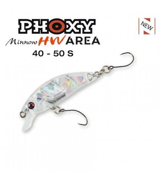 Vobleris Sakura Phoxy Minnow Area 40 mm (2.3 g) – 50 mm (4.2 g)