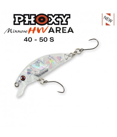 Vobleris Sakura Phoxy Minnow Area 40 mm (2.3 g) – 50 mm (4.2 g)