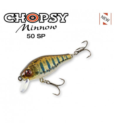 Vobleris SAKURA CHOPSY MINNOW 50SP 50mm, 4,5g