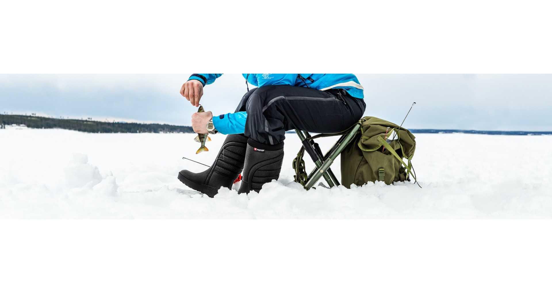 Žieminiai batai žvejybai